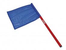 All-In Sport: Voor het aangeven van geldige, resp. ongeldige sprongen, vlagmaat: 50 x 50 cm, met houten steel.