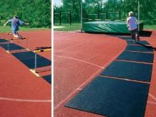 All-In Sport: Van PU/rubber materiaal 8 mm dik, geen struikelkanten kunnen buiten blijven liggen met krijt beschrijfbaar weerbestendig, afwasbaar eenvo...