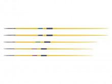 All-In Sport: Is een duurzame en zeer goed uitgebalanceerde aluminium trainingsspeer volgens IAAF-voorschriften. Basis van meervoudig geharde aluminium...