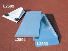 All-In Sport: aus glasfaserverstärktem Kunststoff, zur Verwendung in der Halle und im Freien, mit Stahl-Unterkonstruktion und Aufnahmestutzen für Hante...