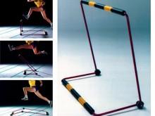 All-In Sport: De horde voor gevaarloos en succesvol aanleren en trainen. De speciale bouwwijze maakt deze horde eenvoudig in gebruik, transport en opbe...