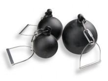 All-In Sport: van gietijzer, geijkt, met draailager, ketting met greep, volgens wedstrijdvoorschriften, lengte 50 cm.
