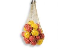 All-In Sport: Speciaal fijnmazig, 3 cm maaswijdte, voor ca. 30 slagballen, polypropyleen 2 mm dik, hennepkleur.