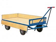 All-In Sport: Praktisch einsetzbar für vielseitige Transportaufgaben. Ladefläche 2 x 1 m, Tragkraft 1000 kg, Bordwände 20 cm hoch (abklappbar). Ladeflä...