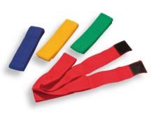 All-In Sport: met klittenband. Band van 100% polypropyleen, milieuvriendelijk 4cm breed. <br /><br />Senior, L: ca. 60 (120) cm.