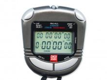 All-In Sport: Instapmodel van de DIGI Memory stopwatches met extra groot 2-regels display. 50 geheugenopslag-plekken voor ronde- en tussentijden. Garan...