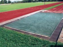 All-In Sport: Het waterdoorlatende gaasmateriaal van PE met ingenaaide holle zoom beschermd de zandbak tegen verontreinigingen, garandeert echter toch ...
