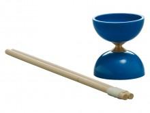 All-In Sport: Ideaal voor starters, resp. in de les. Van hoogwaardig kunststof, 11 cm hoog, ca. 10 cm Ø, gewicht ca. 200 gram. Kleuren rood en blauw as...