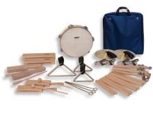 All-In Sport: Ritmiektas met hoogwaardige instrumenten voor groepen tot 18 kinderen. Ideaal voor scholen en kinderdagverblijven. De tas is wasbaar. Set...