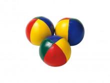 All-In Sport: Met squeeze-effect. Kunstleren mantel met Gierstvulling, ca. Ø 7 cm, gewicht 130 gram. Geschikt voor intensief gebruik. Bonte kleuren ass...