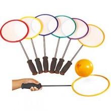 All-In Sport: BadaLoons zijn licht in gewicht en makkelijk te handelen. Ideaal voor de start van badminton. Lengte 58 cm, bladdoorsnede 25,4 cm