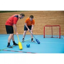 All-In Sport: Dit Super Soft Touch Polo spel, ook wel Ballbouncer genaamd, is te vergelijken met een soort hockey, maar vanwege het grote ronde en zach...