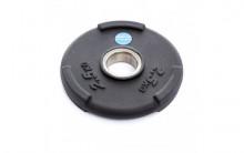 All-In Sport: <p>50 mm halterschijf van Polyurethaan Zwart 2.50 kg</p> <p></p> <p>2,50 kg Halterschijf van Polyurethaan, duurzamer dan rubberen...