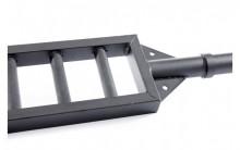 All-In Sport: <p>Olympische Multi Grip Bar Black:</p> <p>&nbsp;</p> <p>De multi grip bar maakt dankzij de parallelgrepen een uiterst effectieve train...