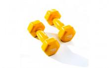 All-In Sport: <p>Muscle Power Vinyl Dumbbells Set 2.5 kg Geel</p> <p></p> <p>Vinyl Dumbbells worden veel gebruikt door fysiotherapeuten en word...
