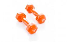 All-In Sport: <p>Vinyl Dumbbells worden veel gebruikt door fysiotherapeuten en worden gebruikt als dumbbell bij lichtere oefeningen die helpen met reva...