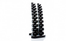 All-In Sport: <p>Ronde Dumbbellset : 1 - 10 kg:10 paar ronde dumbbells (stapgrootte van 1 kg)</p> <p></p> <p>De afwerking en de uitstraling van...