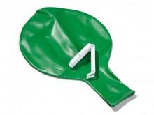 All-In Sport: einzeln, bestehend aus Plastikrohr und Klemmstück, wiederverwendbar.