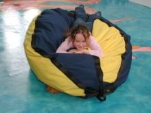 All-In Sport: Nodigt uit tot liggen, zitten, snoezelen en ontspannen. Voor kinderen is de Snoezelzak bijzonder attractief en is zodoende ideaal in de t...