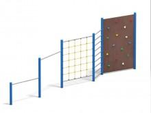 All-In Sport: <p>Gymnastiek- en klimpark voor schoolpleinen, speelplaatsen en andere openbare inrichtingen. Zeer duurzame uitvoering van verzinkt staal...