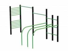 All-In Sport: <p>Te plaatsen <span style=text-decoration: underline;><strong>OP</strong></span> betonnen fundamenten. De outdoor fitnessstudio voor C...
