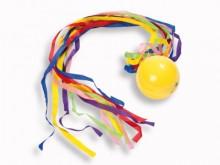 All-In Sport: Unieke speelbal (ca. Ø 7 cm) met ca. 40 cm lange staart, die het vangen van de bal aanzienlijk simpeler maakt. De staart is afneembaar, z...