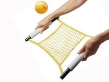 All-In Sport: Dit netspel kan alleen of groepsgewijs gespeeld worden, b.v. in teamverband, zoals bij badminton of volleybal, met of zonder sportnet (aa...