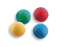 All-In Sport: <p>Set van 10 ballen, geassorteerde kleuren 3 x rood, 3 x blauw, 2 x geel, 2 x groen. Goed springen, 6,2 cm &Oslash;.</p>