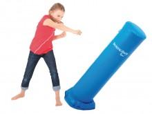 All-In Sport: De Boxing Base is een met zand gevulde boksbal en is geschikt voor agressie-afbouw, bokstraining of simpelweg alleen vals kinderspeelgoed...