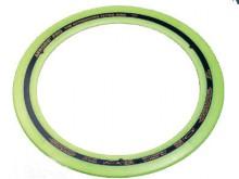 All-In Sport: De Original Flying-Ring, waarmee het werp-wereldrecord (383 meter!) werd behaald. Op basis van de speciale soft-rand is de ring onvergeli...