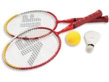 All-In Sport: De mini-badmintonrackets zijn vergelijkbaar met klassieke badmintonrackets, hebben echter kortere shafts. Vanwege de bespanning van de ra...