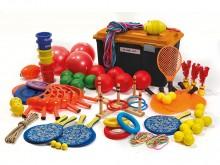 All-In Sport: <p>Voor meer beweging tijdens de pauze. Inhoud samengesteld voor een groep van max. 50 kinderen. Compleet met de volgende artikelen:</p>...