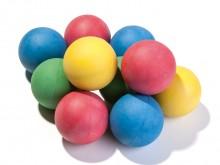 All-In Sport: De bijzonder voordelige grote set, bonte kleuren assorti. Ballen van sponsrubber (zie artikelen S6554-S6557)