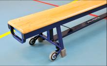 All-In Sport: <p>Degelijk metalen frame met geintegreerde stalen evenwichtslat 7 cm. breed. Staat op 4 rubber voeten en de uiteinden zijn voorzien van ...