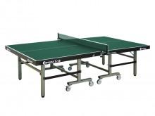 All-In Sport: Hoogwaardige verenigings- en wedstrijdtafel S7-12 Master Compact met ITTF-toelating, voldoet aan EN 14468-1 A. Spaanplaat 25 mm, groen ge...
