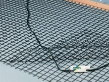 All-In Sport: Van gecoat polyester materiaal, dubbele netlengte. Maaswijdte 4 x 4 cm. Netmaat 2 meter breed, 1,4 meter lang. Compleet met sleeplat en s...