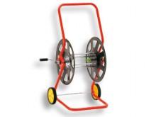 All-In Sport: Voor ca. 30-40 meter 3/4 slang. Robuuste staalconstructie met waterdoorloop door de trommelas. Slangtrommel Ø 65 cm. Watervaste epoxy la...