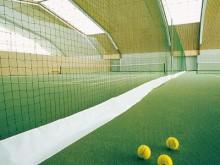 All-In Sport: Als afscheidingsnet STANDAARD, maar extra met een ca. 15 cm brede, doorlopende versterkingsflap aan de onderzijde van het net. Een loodko...