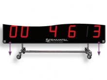 All-In Sport: Rollwagen mit 4 Schwenkrollen für flexiblen Einsatz. Gewicht ca. 9 kg.