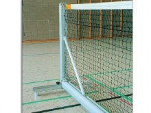 All-In Sport: Vrijstaand, voor officiële netmaat 12,72 x 1,07 meter. Tennisinstallatie voor school- en breedtesport. Overal inzetbaar waar geen bodemhu...