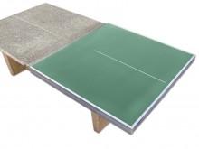 All-In Sport: Hiermee kunt u probleemloos uw oude betonnen tafeltennistafel voorzien van een nieuw speelvlak. Ongeacht fabricaat, ongeacht hoe oud. Dez...