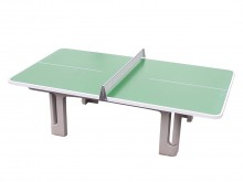All-In Sport: Uitvoering met afgeronde hoeken. Het speciale aan deze topklasse tafeltennistafel zijn de afgeronde hoeken, die voor meer veiligheid zorg...