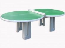All-In Sport: Tafeltennis maar dan anders: waarom moet een tafeltennistafel altijd vlak en hoekig zijn? Bij het spelen aan onze volledig nieuwe tafelte...