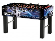 All-In Sport: Lets start the match! Hoogwaardige tafelvoetbaltafel met uitgebreid, detailtrouw design. Uitgevoerd is de tafelvoetbaltafel met een ca. ...