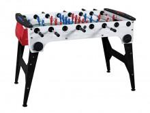 All-In Sport: Professionele en weerbestendige tafelvoetbaltafel met praktische inklapconstructie voor eenvoudige en ruimtebesparende opberging. De outd...