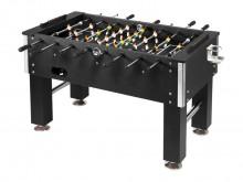 """All-In Sport: De tafelvoetbaltafel """"Profi-Soccer DeLuxe"""" is een voordelige wedstrijdtafel in edel design met chroomgekleurde sierstijlen aan de behuizi..."""