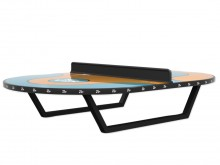 All-In Sport: Officiële Futtoc wedstrijdtafel. Zeer robuust en duurzaam speelvlak van krasvrij en anti-slip kunsthars-/glasvezelmateriaal, UV- en vanda...