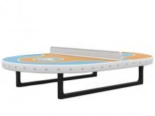 All-In Sport: Futtoc speeltafel voor een permanente installatie op openbare speelplaatsen. Zware en robuuste uitvoering met 25 mm dik speelvlak en 110 ...