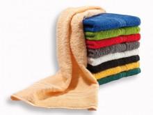 All-In Sport: Van hoogwaardig badstof, 100% katoen. Gewicht 380 gram/m2, wasbaar: kleuren tot 60 graden, wit tot 95 graden.