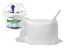 All-In Sport: Nachfüllpack für Eimer: 150 Tücher, Maße Einzeltuch: (LxB) 28 x 28 cm um großflächig zu reinigen und zu desinfizieren